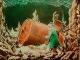 Жорж Мельес - Путешествие на Луну, 1902 (цветная версия)
